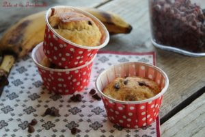 Muffins allégés bananes