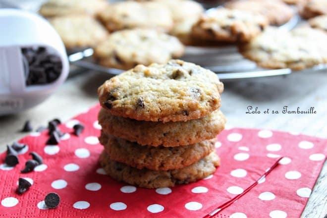 Cookies aux pépites de chocolat {l'ultime recette}