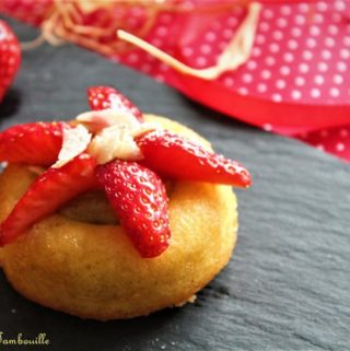 Namandiers rhubarbe & fraises