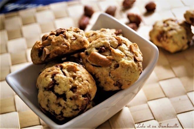 Cookies aux cacahuètes caramélisées {chouchou}