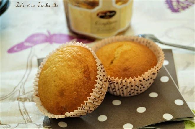 Muffins à la confiture