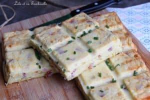 Gâteau salé au fromage blanc