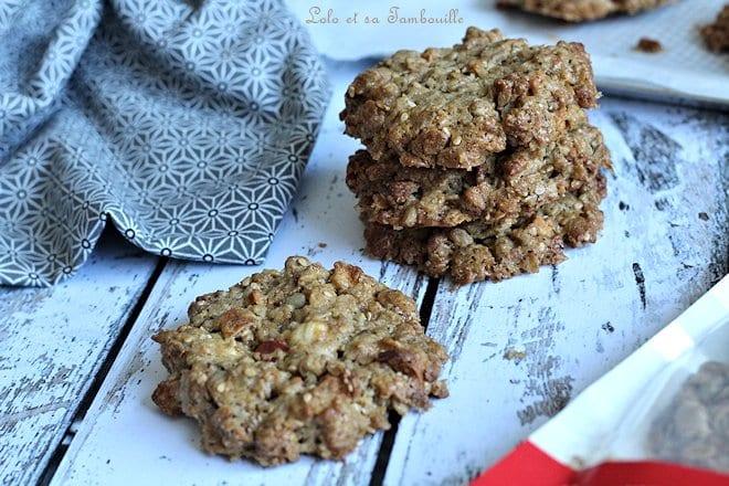 Biscuits au granola