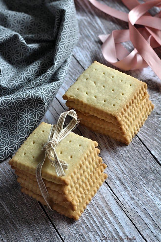 recette de petits-beurre maison, biscuits maison