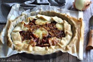 Tarte oignons & lardons