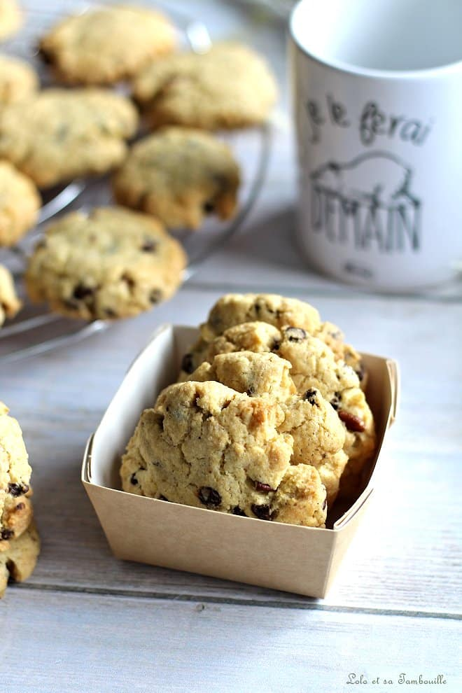 Cookies aux jaunes d'œufs