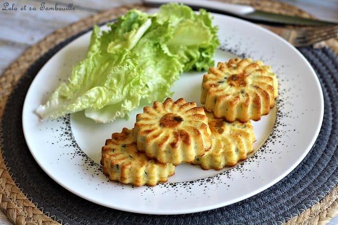 Clafoutis de courgettes au parmesan