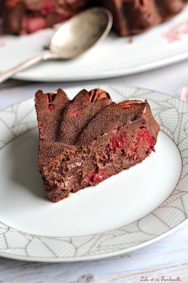 brownie allégé, recette sans beurre, dessert sans beurre
