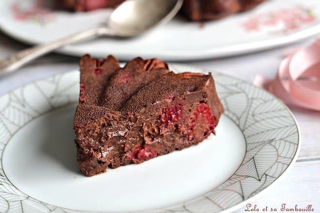 Brownie au chocolat compote,brownie compote