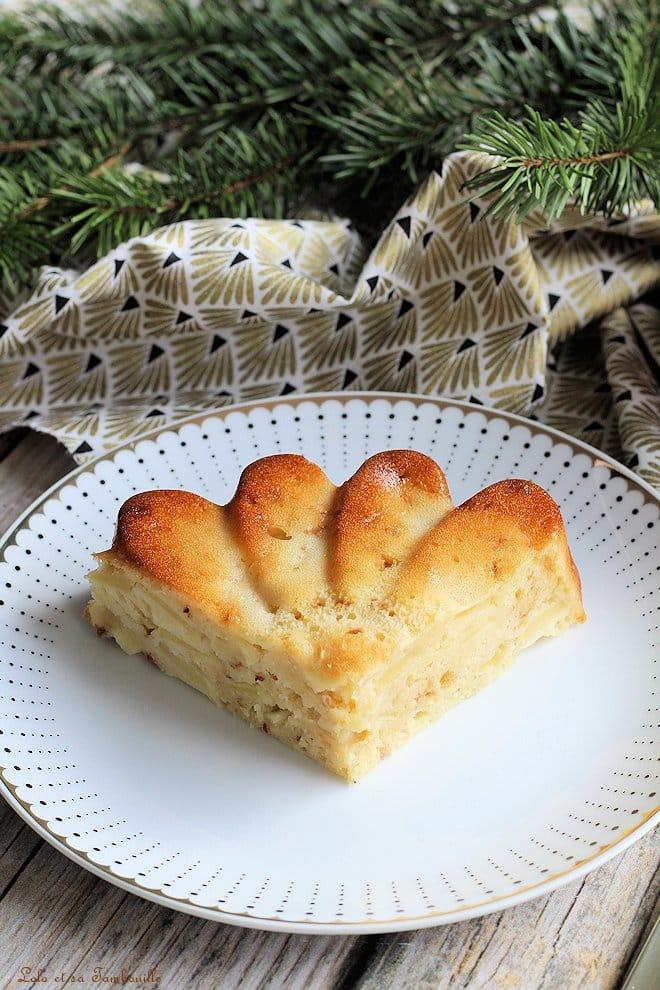 Gâteau léger aux pommes