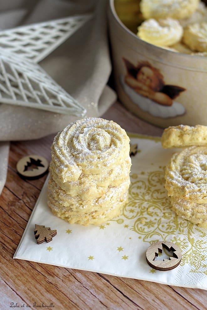 Biscuits au citron & fromage frais