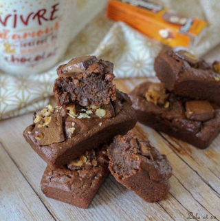 Brownie patate douce