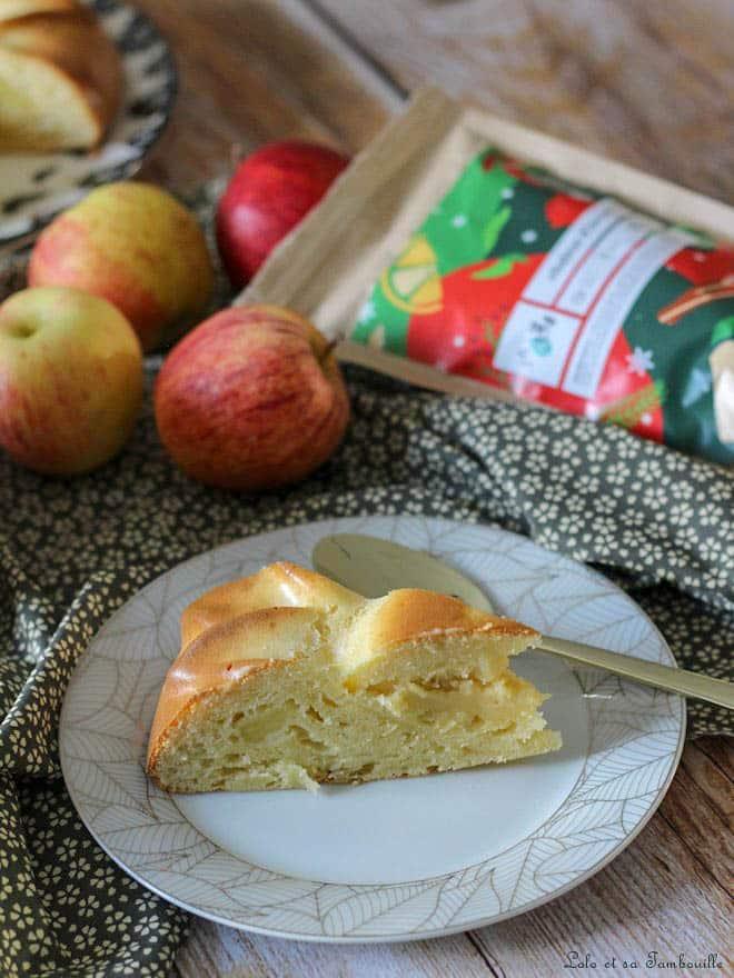 Gâteau aux pommes & mascarpone