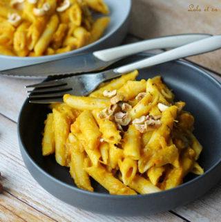 One pot pasta potimarron