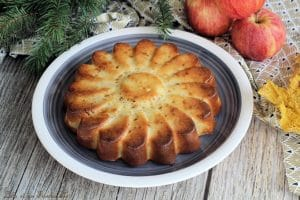 Gâteau léger pommes