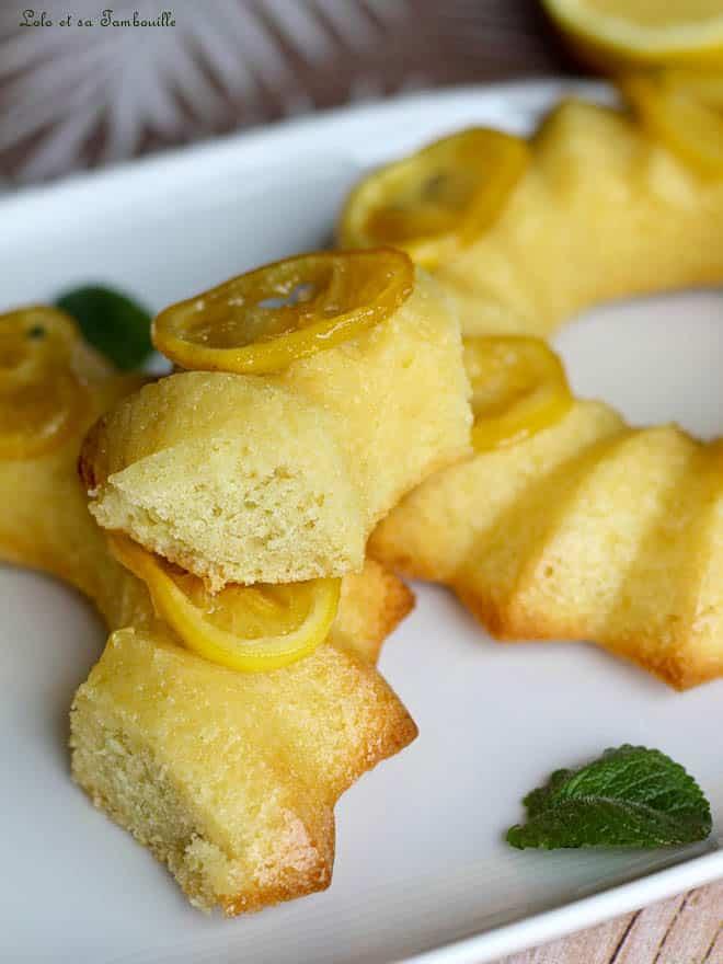 Cake au citron façon Baba