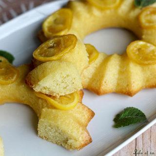 Cake citron façon Baba