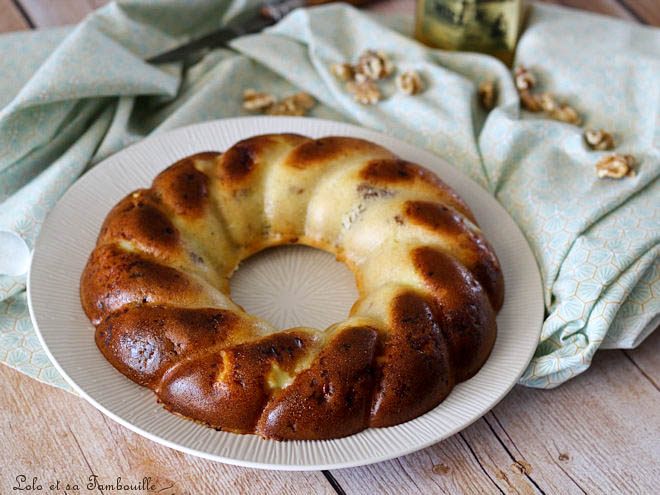 Cake au gorgonzola & noix