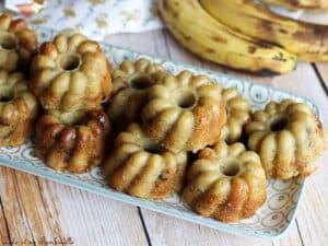 Muffins bananes flocons d'avoine