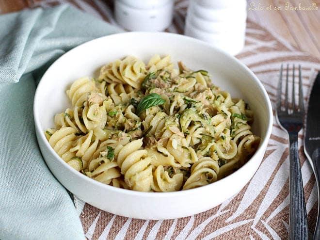 one pot,one pot pasta,one pot pasta courgette,one pot pasta recette,one pot pasta thon,one pot pasta au thon