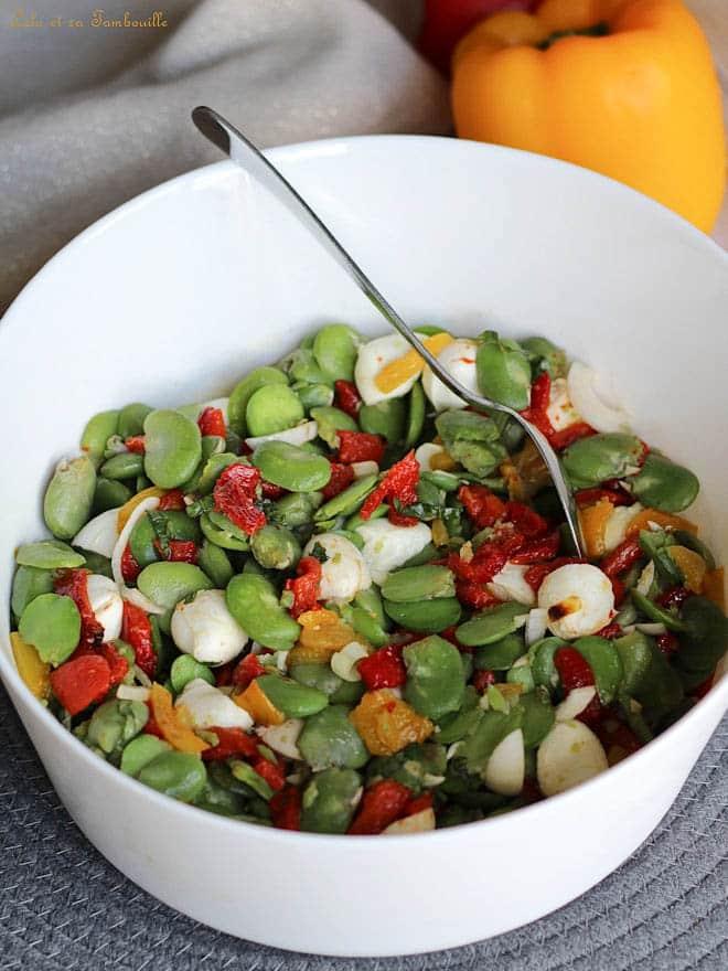 salade estivale, recette légère, blog