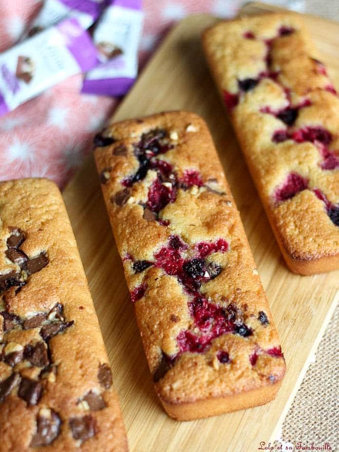 recette de gâteau aux amandes avec fruits rouges
