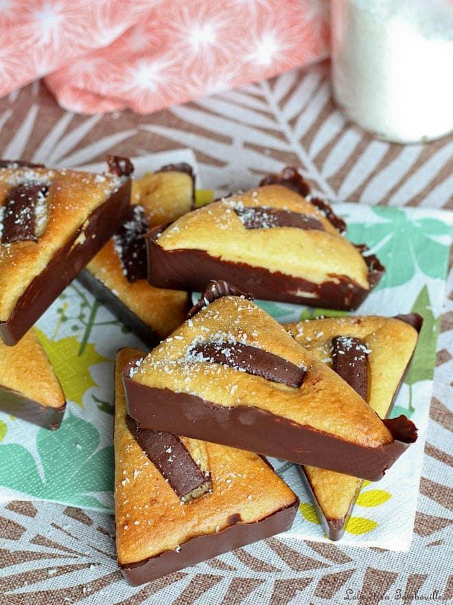 gâteaux au yaourt parfumés à la noix de coco