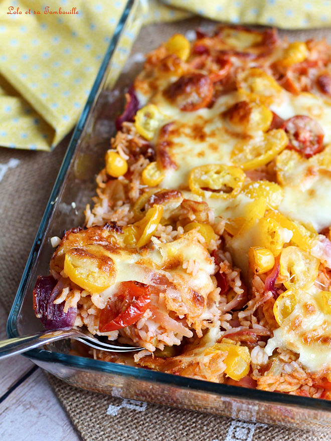 recette gratin au four avec tomates, gratin végétarien