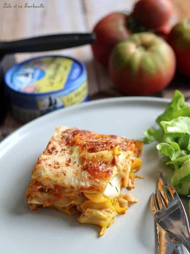 recette de lasagnes végétarienne et allégée