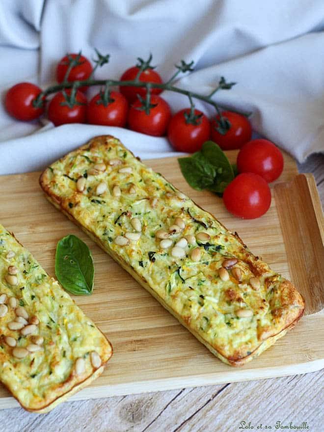 pain de courgettes parmesan, recette allégée