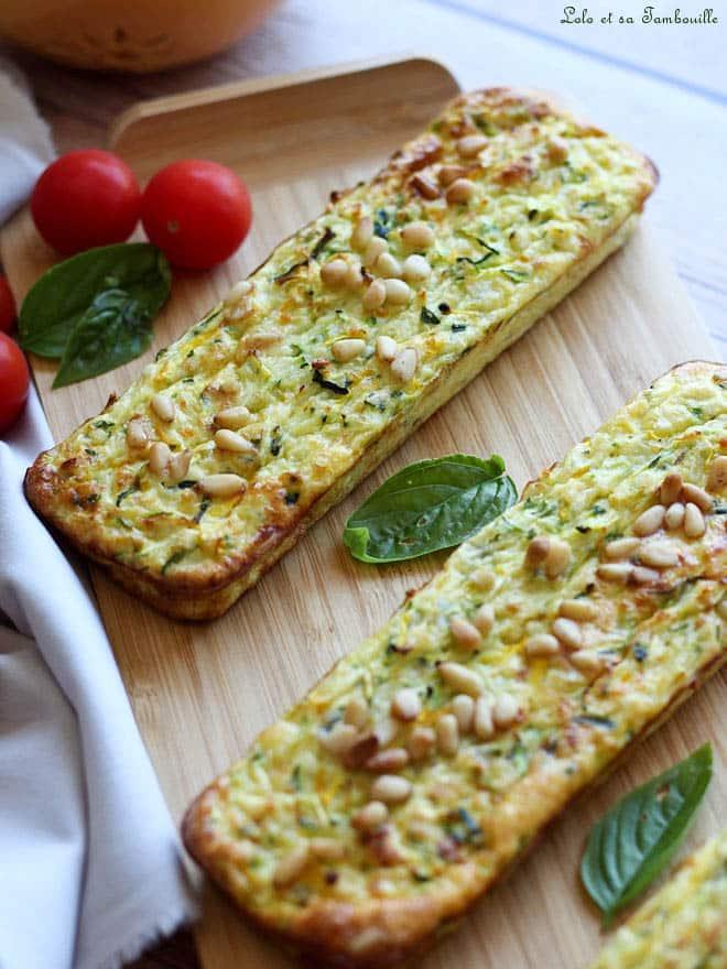 pain de courgettes, recette pain de courgettes léger