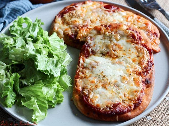 pizza naans,pizza naan recette