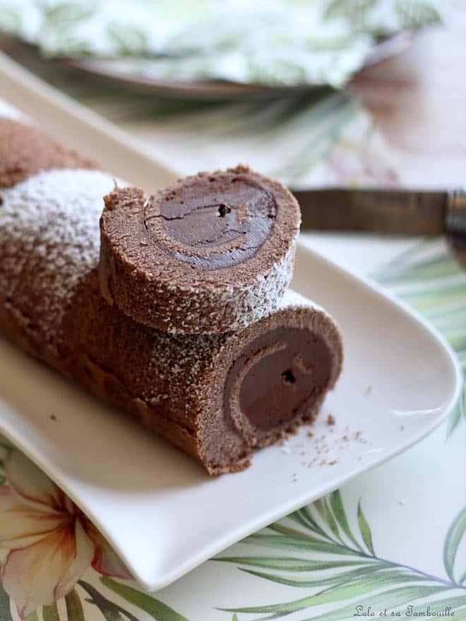 roulé au chocolat recette facile