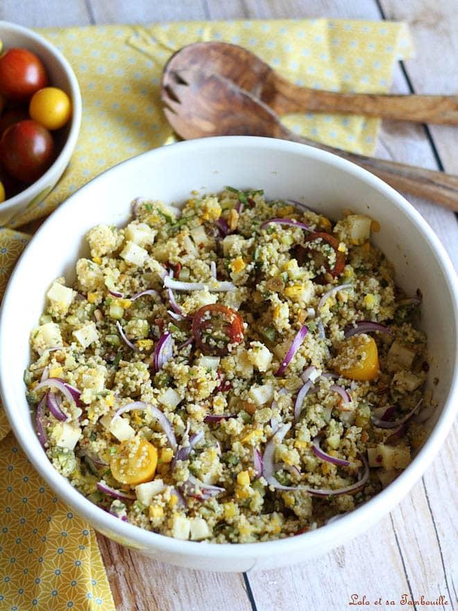 recette de salade estivale
