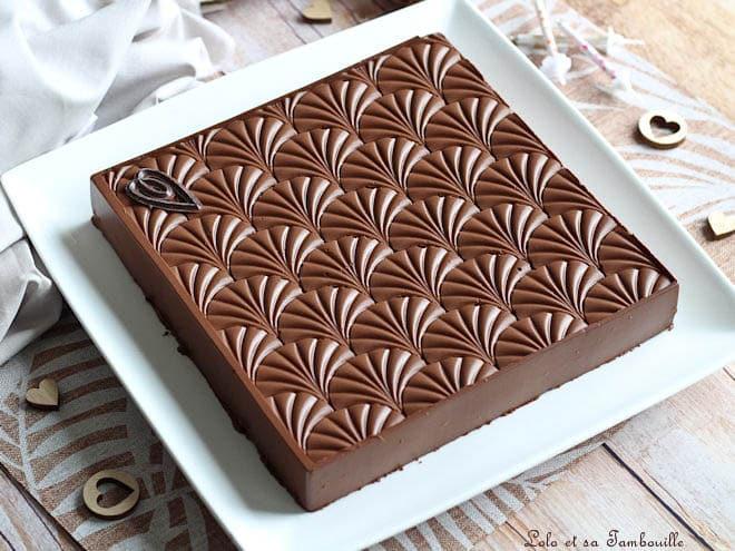 Bavarois au chocolat,bavarois au chocolat facile,bavarois au chocolat noir,recette bavarois au chocolat,recette bavarois au chocolat noir