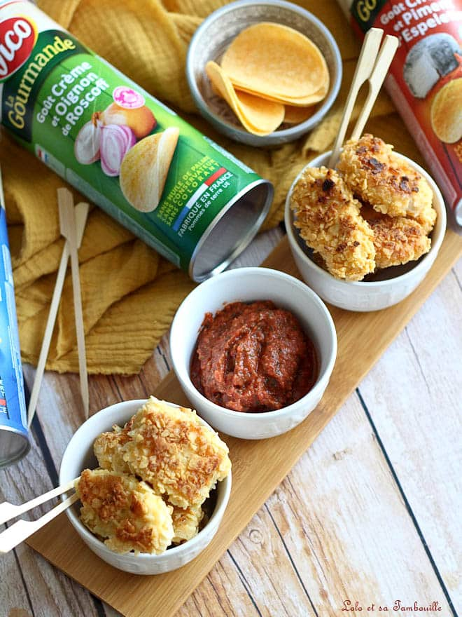 recette de nuggets avec des chips