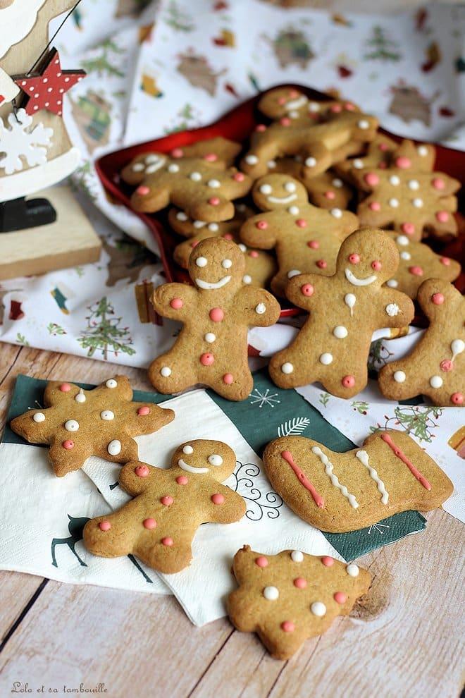 Gingerbread {biscuits aux épices}