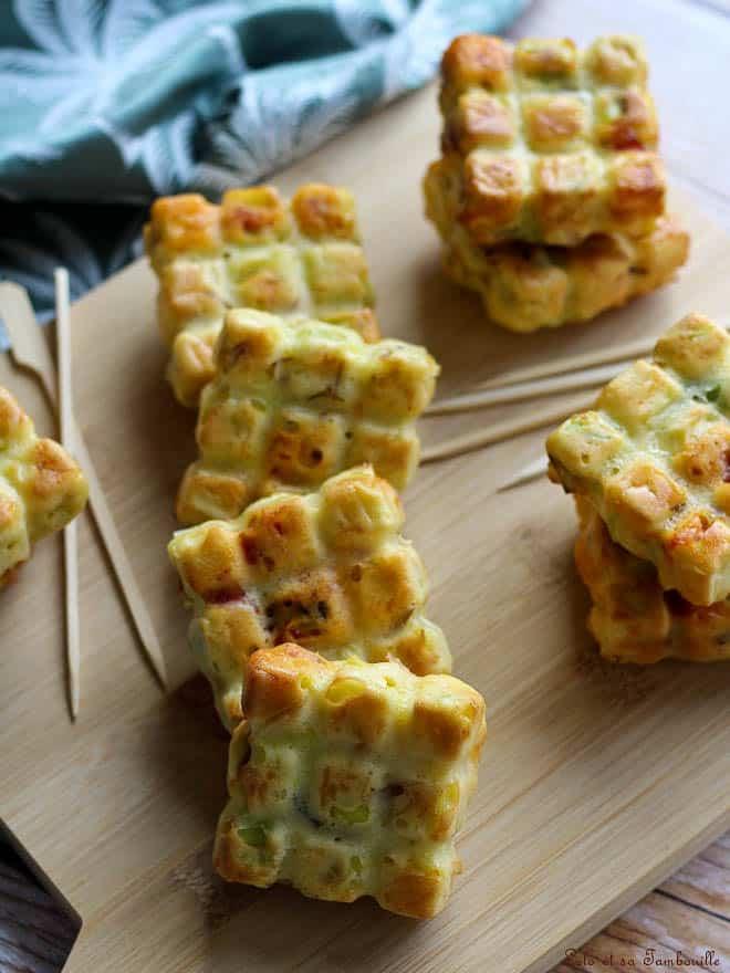 Cake aux poireaux & chorizo