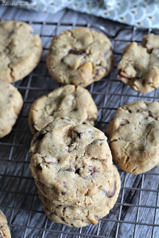 Cookies aux noix du Brésil & chocolat