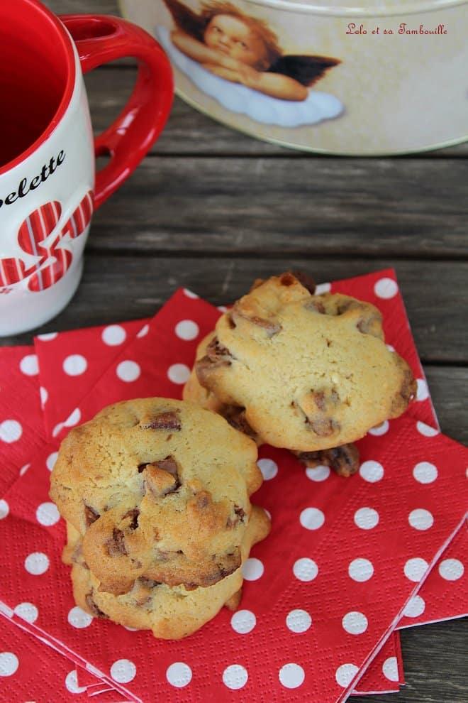 Biscuits tendres aux éclats de chocolat {de Martha Stewart}