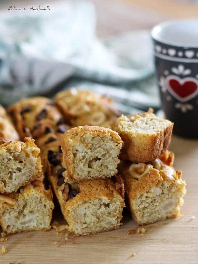 Cake aux pommes & noisettes